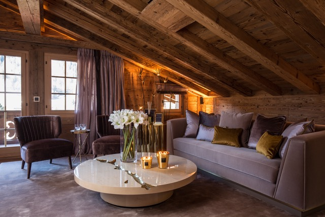 Exclusive Rustic Chalet In The Swiss Montains By Rougemont Interiors (8) rougemont interiors Empire Center Table Shines In This Rougemont Interiors Project Exclusive Rustic Chalet In The Swiss Montains By Rougemont Interiors 8