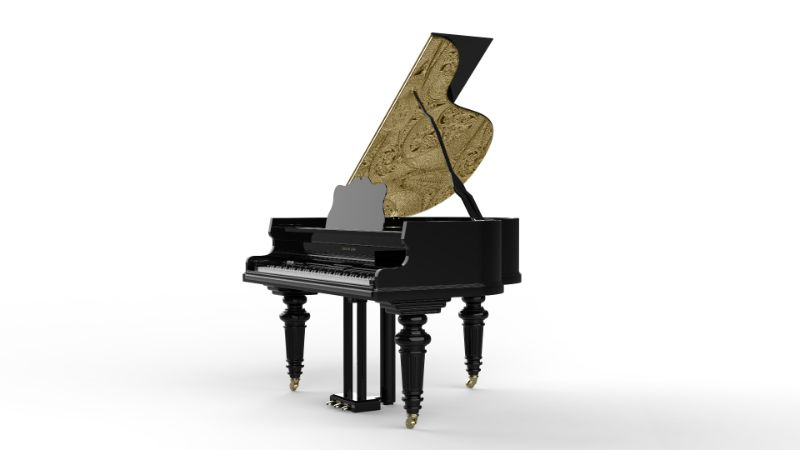The Bespoke Grand Piano Filigree: A True Gem by Boca do Lobo boca do lobo The Bespoke Grand Piano Filigree: A True Gem by Boca do Lobo Boca do Lobos New Line Is More Exclusive Than Our Collections 8