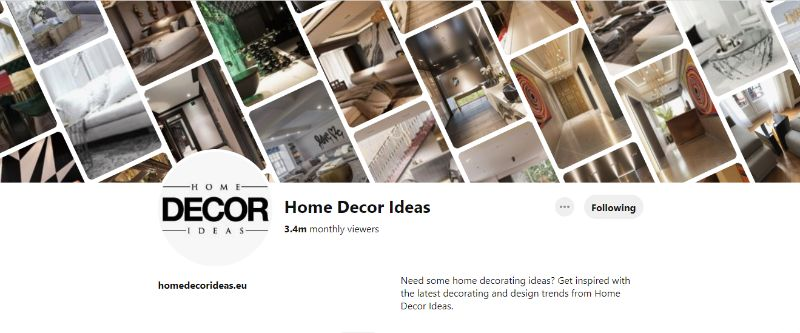 pinterest account 10 Pinterest Accounts That Fuel Our Daily Design Inspirations HDI