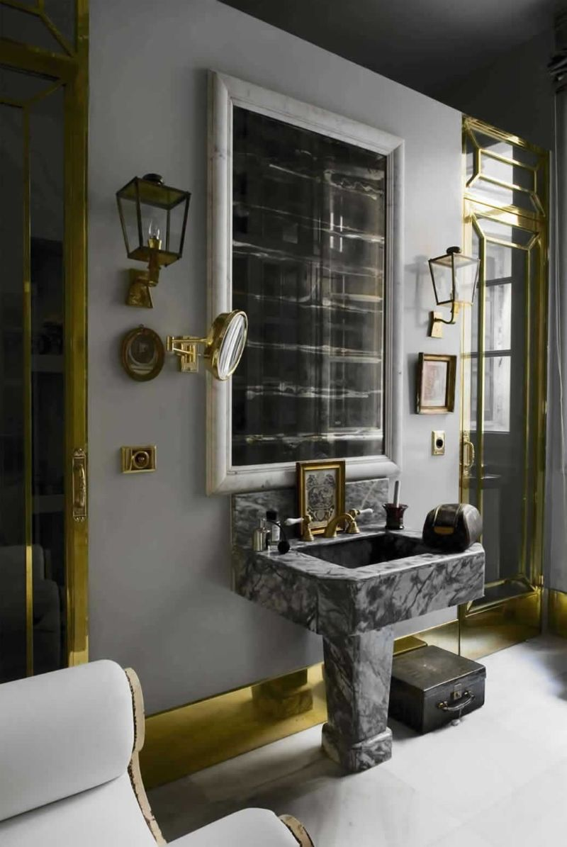bathroom design High-End Bathroom Designs For A Contemporary Home LORENZO CASTILLO