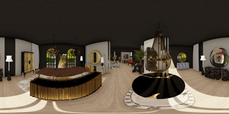 An Immersive Digital Experience To Celebrate 15 Years of Boca do Lobo boca do lobo Celebrate Boca do Lobo's 15 Years Throughout An Immersive Virtual Tour S3 Panorama HD