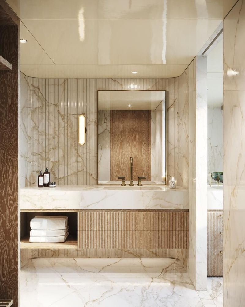 bathroom design High-End Bathroom Designs For A Contemporary Home TARA BERNARD