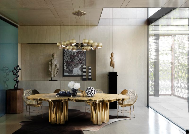 boca do lobo The Fortuna Dining Table: A Refined Statement Piece by Boca do Lobo fortuna press covers