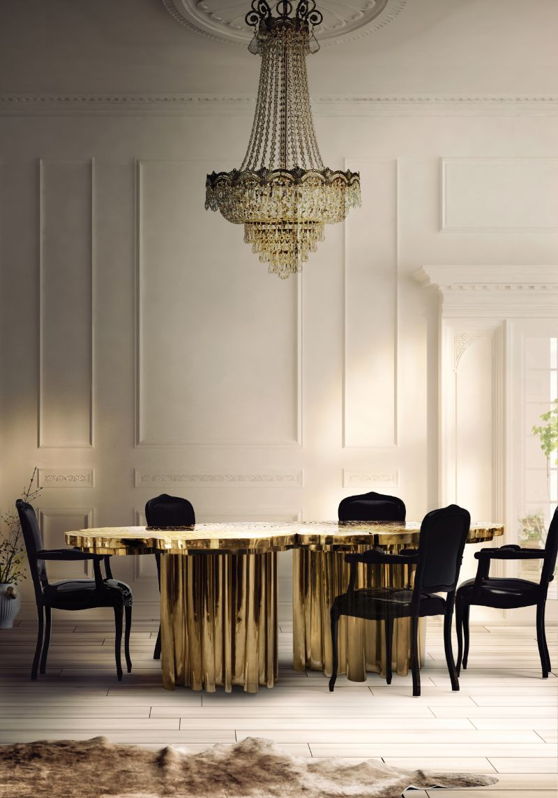 The Fortuna Dining Table: A Refined Statement Piece by Boca do Lobo boca do lobo The Fortuna Dining Table: A Refined Statement Piece by Boca do Lobo fortuna