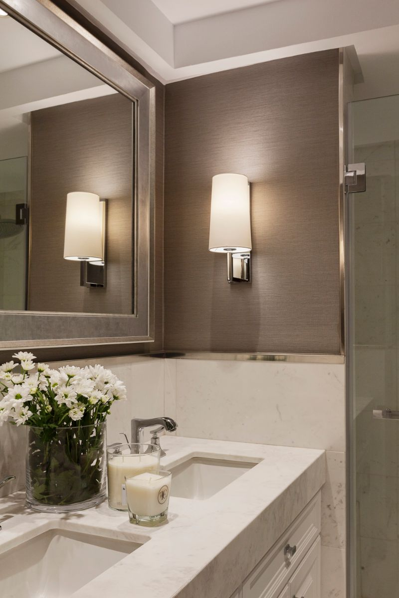 bathroom design High-End Bathroom Designs For A Contemporary Home marisa gallo