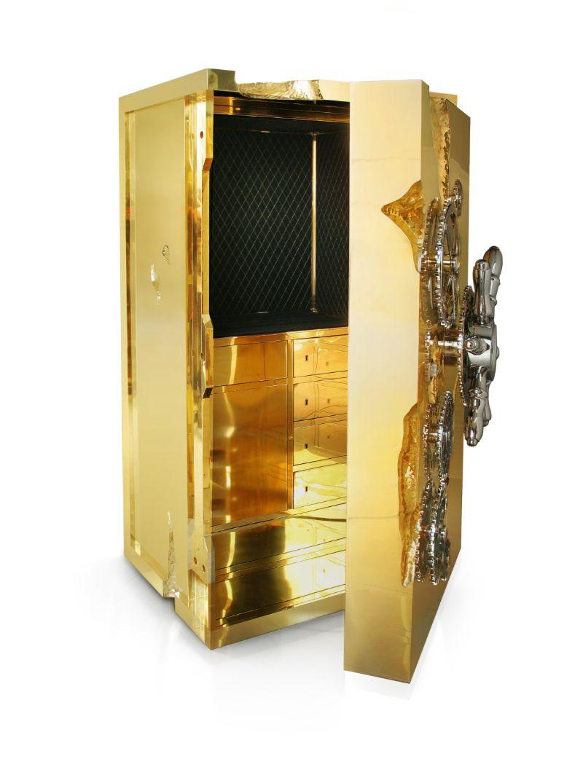boca do lobo A Symbol Of Luxury Lifestyle – The Millionaire Safe By Boca do Lobo millionaire 03