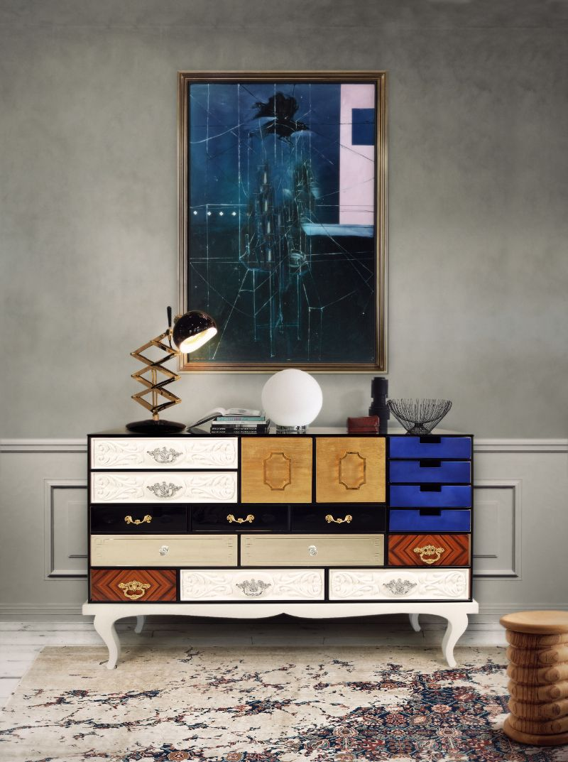 Soho Sideboard & Coleccionista: The First Creations Of Boca Do Lobo
