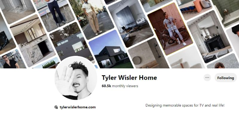 pinterest account 10 Pinterest Accounts That Fuel Our Daily Design Inspirations tyler
