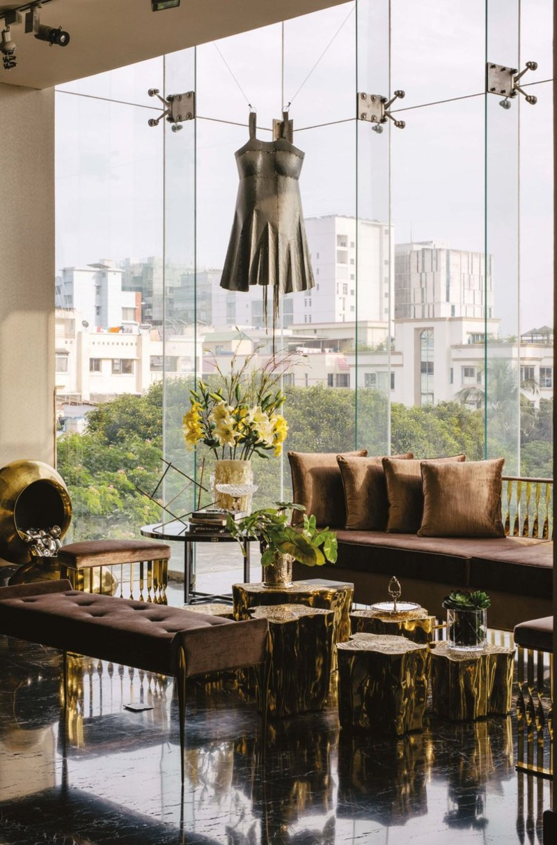 luxury residence A Luxury Residence Idealized For A Mega Art-Collecting Couple A Luxury Residence Where Art And Collectable Design Are The Main Focus 2