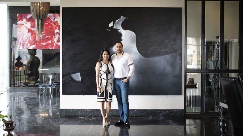 luxury residence A Luxury Residence Idealized For A Mega Art-Collecting Couple A Luxury Residence Where Art And Collectable Design Are The Main Focus 6
