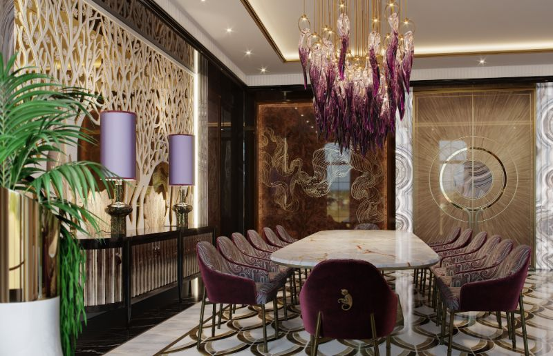 Elena Krylova Designs An Opulent And Glamorous Moscow Mansion moscow mansion Elena Krylova Designs An Opulent And Glamorous Moscow Mansion An Over The Top Luxury Manor In Moscow by Elena Krylova 3