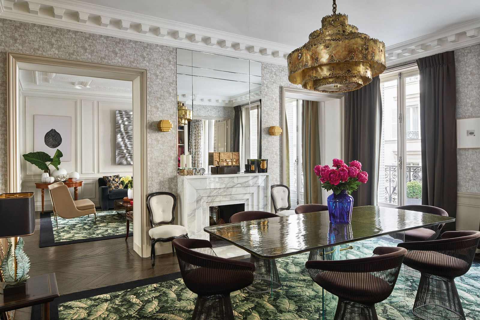 Champeau and Wilde Create Bring Modern Design To This Paris Apartment (1) champeau and wilde Champeau and Wilde Create Bring Modern Design To This Paris Apartment Champeau and Wilde Create Bring Modern Design To This Paris Apartment 1