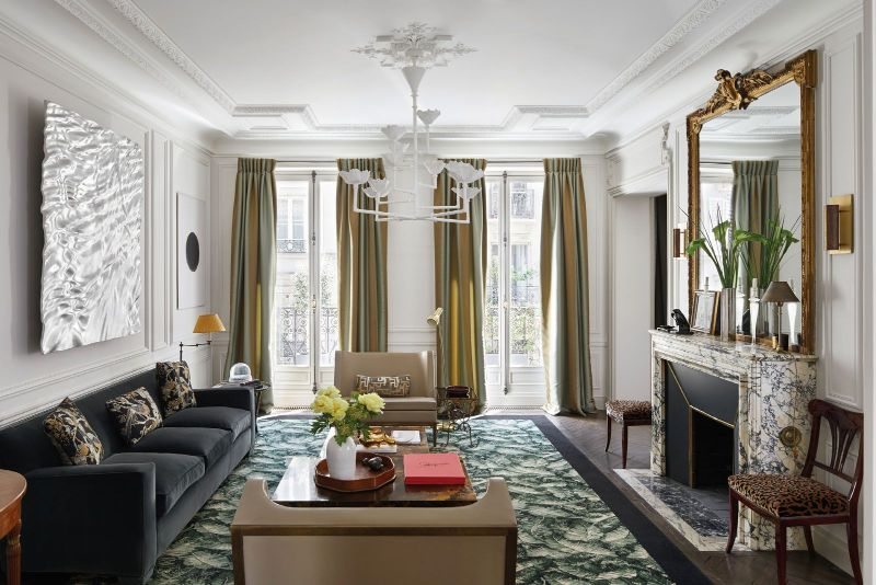 champeau and wilde Champeau and Wilde Create Bring Modern Design To This Paris Apartment Champeau and Wilde Create Bring Modern Design To This Paris Apartment 1