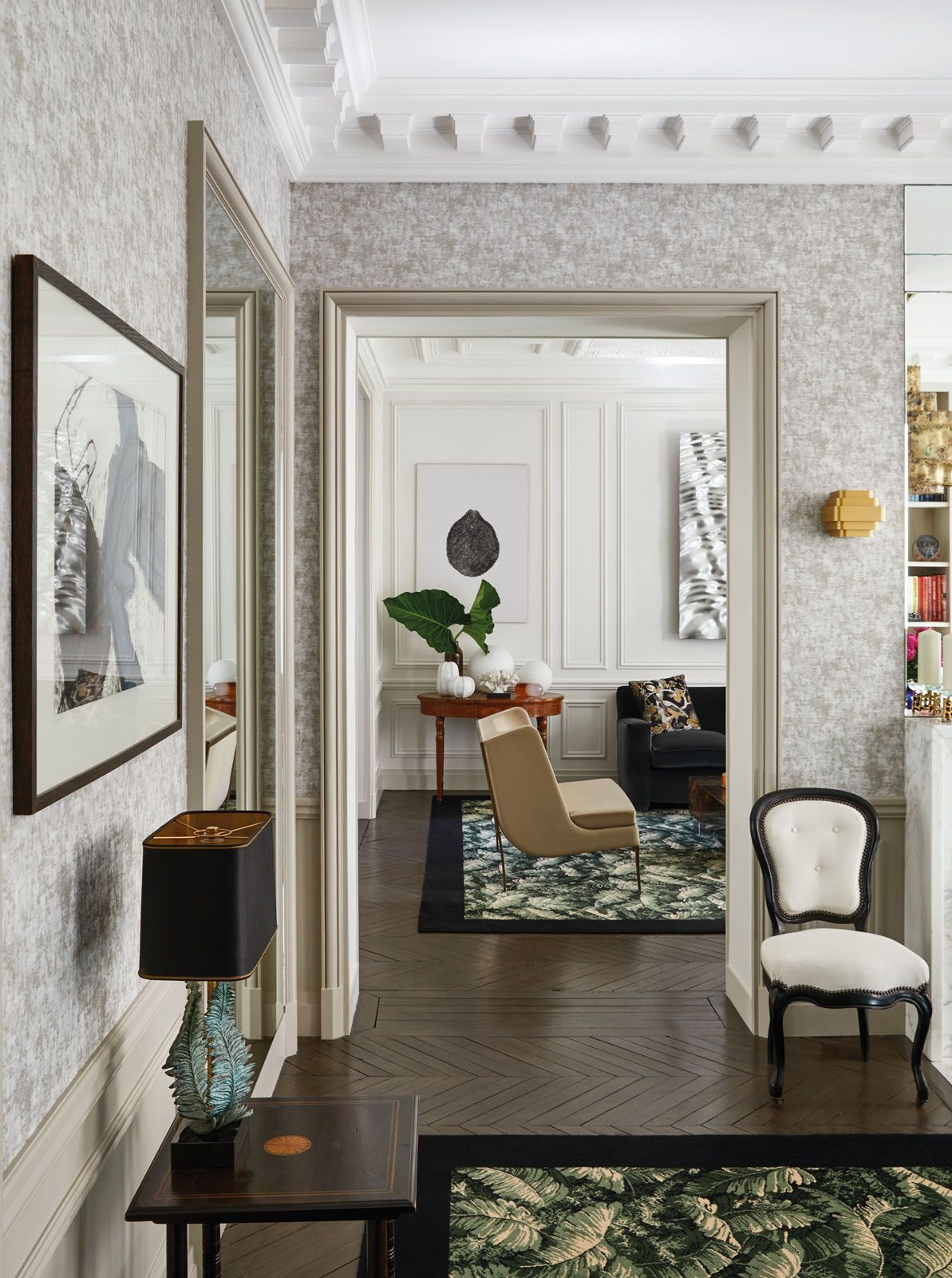 champeau and wilde Champeau and Wilde Create Bring Modern Design To This Paris Apartment Champeau and Wilde Create Bring Modern Design To This Paris Apartment 2