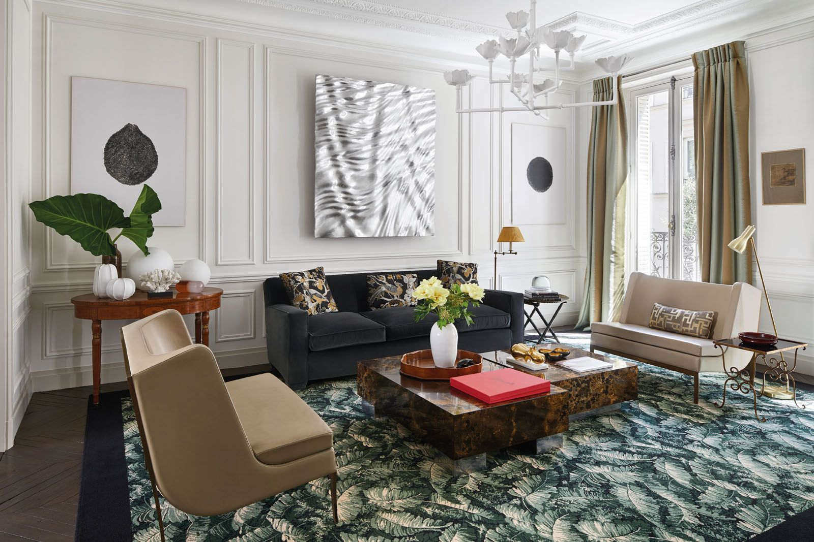champeau and wilde Champeau and Wilde Create Bring Modern Design To This Paris Apartment Champeau and Wilde Create Bring Modern Design To This Paris Apartment 5