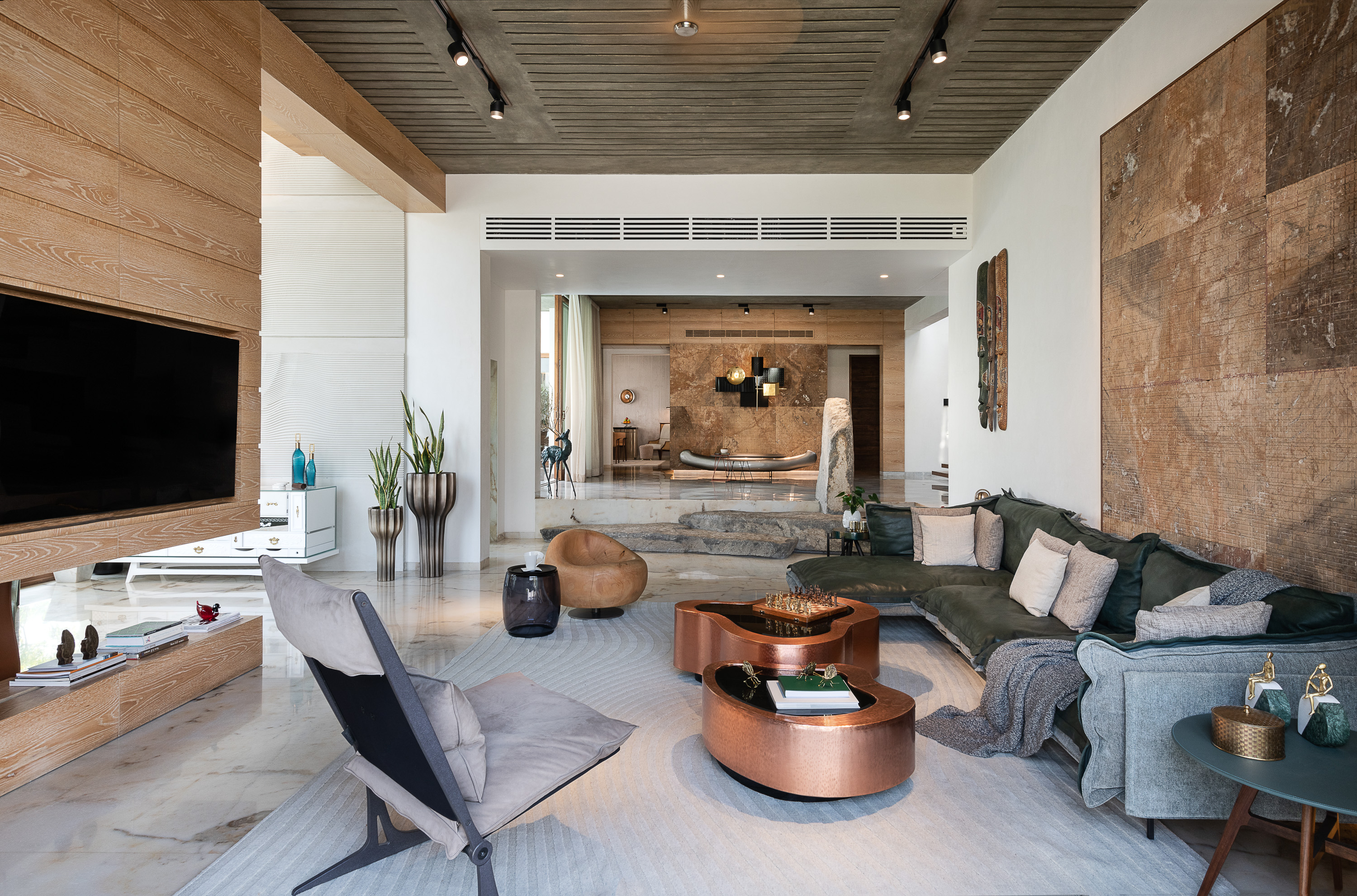 Sustainability Meets Luxury In This Private Residence by NA Architects (1) na architects NA Architects Design A Private Residence Where Copper Hues Reign Sustainability Meets Luxury In This Private Residence by NA Architects 1