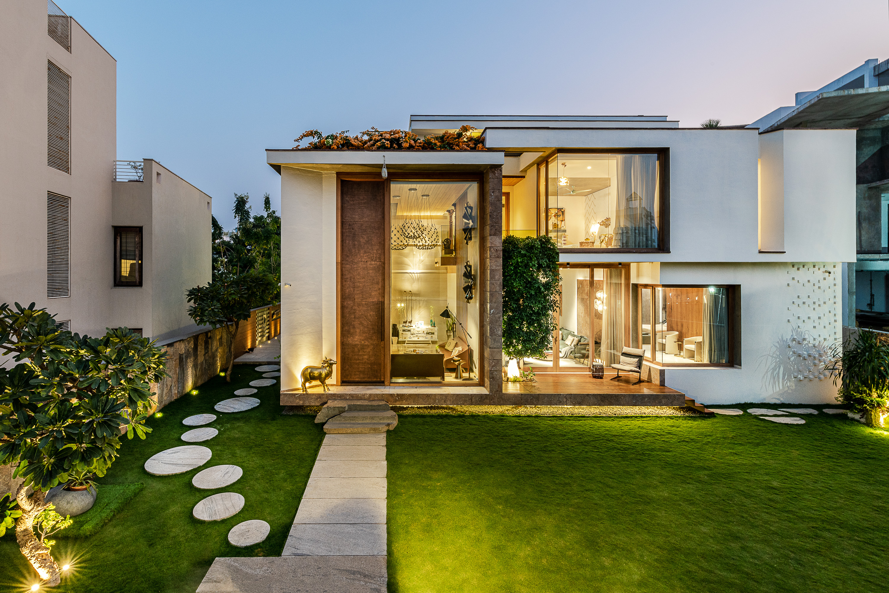 Sustainability Meets Luxury In This Private Residence by NA Architects (11) na architects NA Architects Design A Private Residence Where Copper Hues Reign Sustainability Meets Luxury In This Private Residence by NA Architects 11