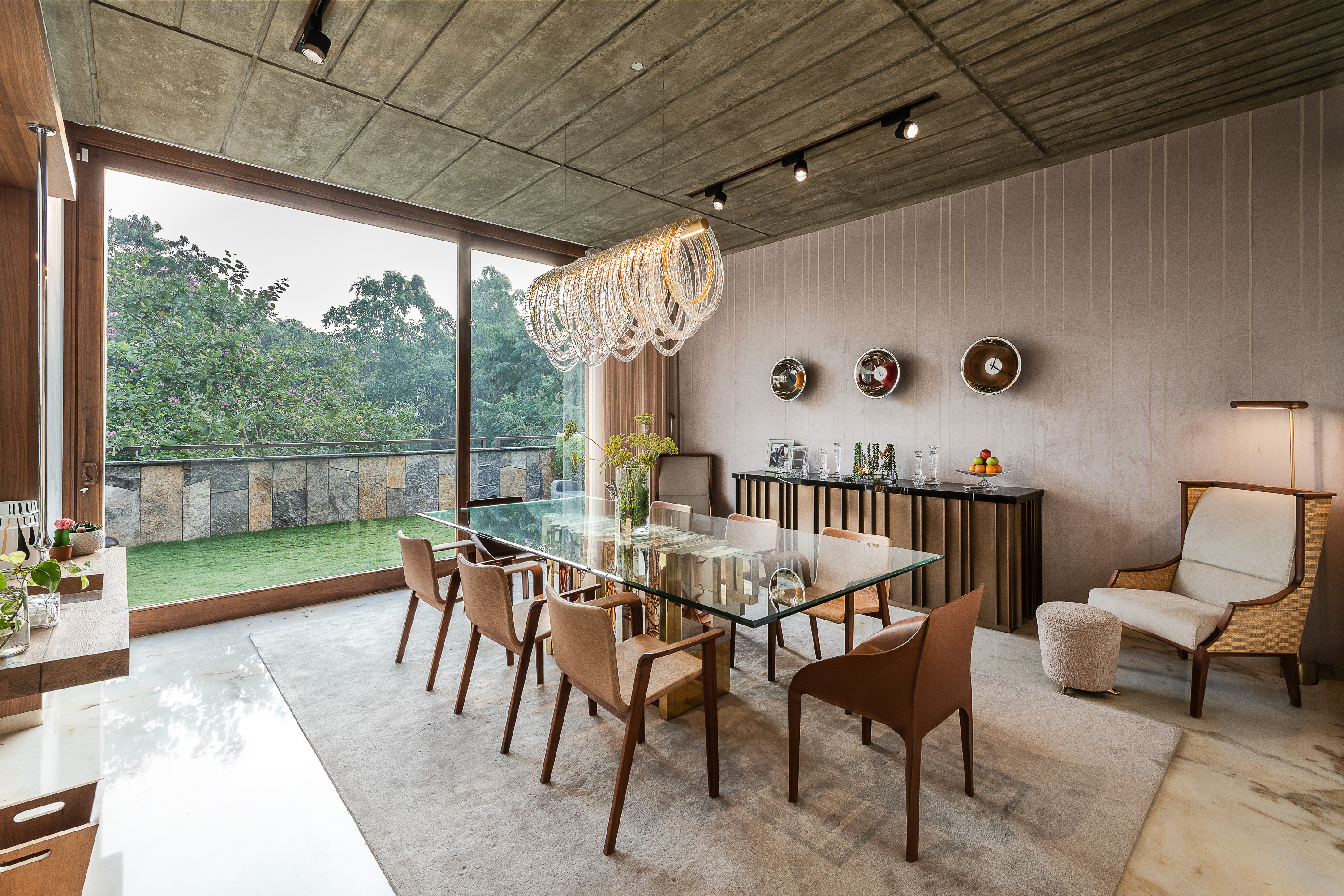 Sustainability Meets Luxury In This Private Residence by NA Architects (2) na architects NA Architects Design A Private Residence Where Copper Hues Reign Sustainability Meets Luxury In This Private Residence by NA Architects 2
