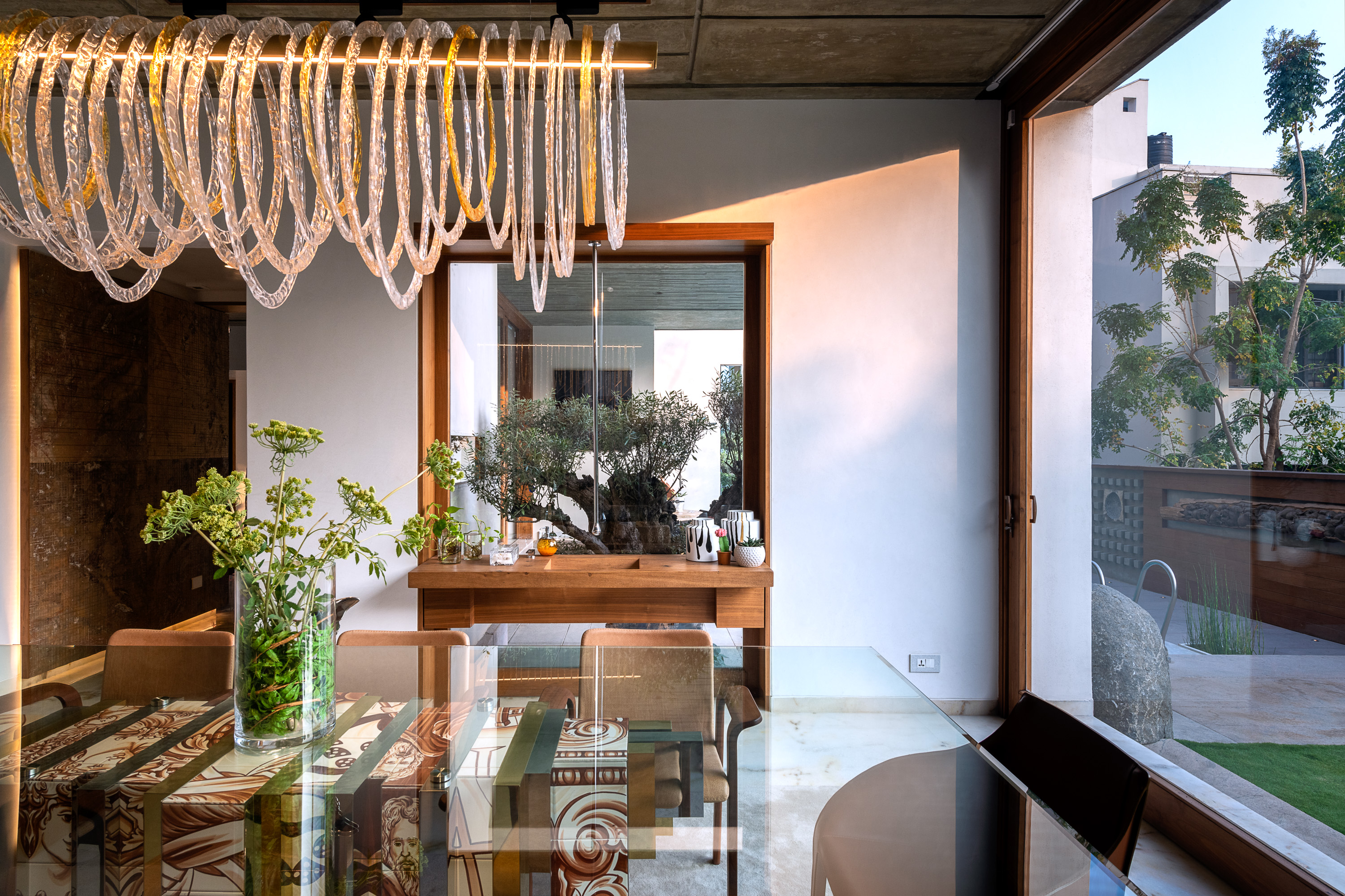 Sustainability Meets Luxury In This Private Residence by NA Architects (3) na architects NA Architects Design A Private Residence Where Copper Hues Reign Sustainability Meets Luxury In This Private Residence by NA Architects 3