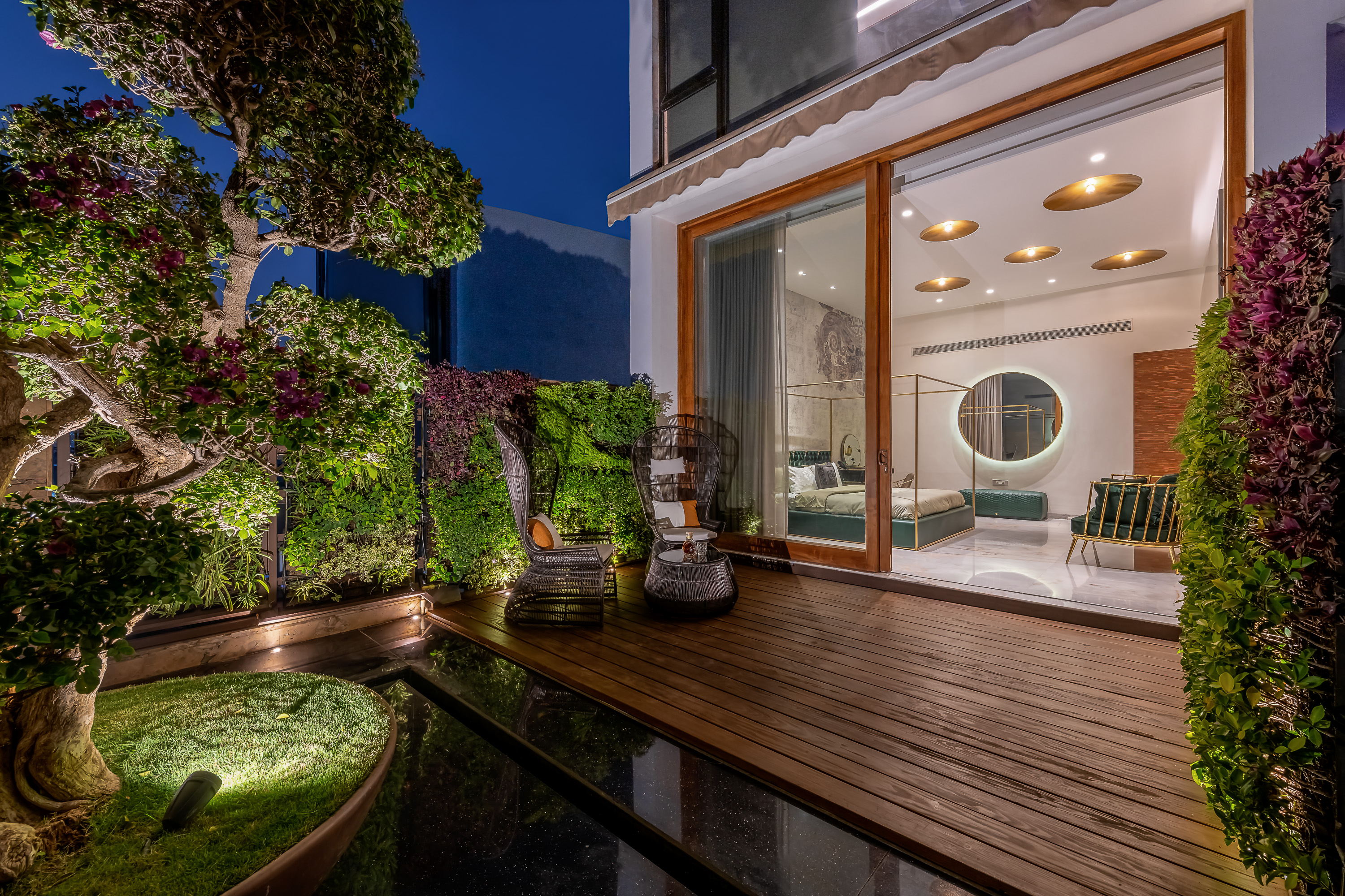 Sustainability Meets Luxury In This Private Residence by NA Architects (5) na architects NA Architects Design A Private Residence Where Copper Hues Reign Sustainability Meets Luxury In This Private Residence by NA Architects 5