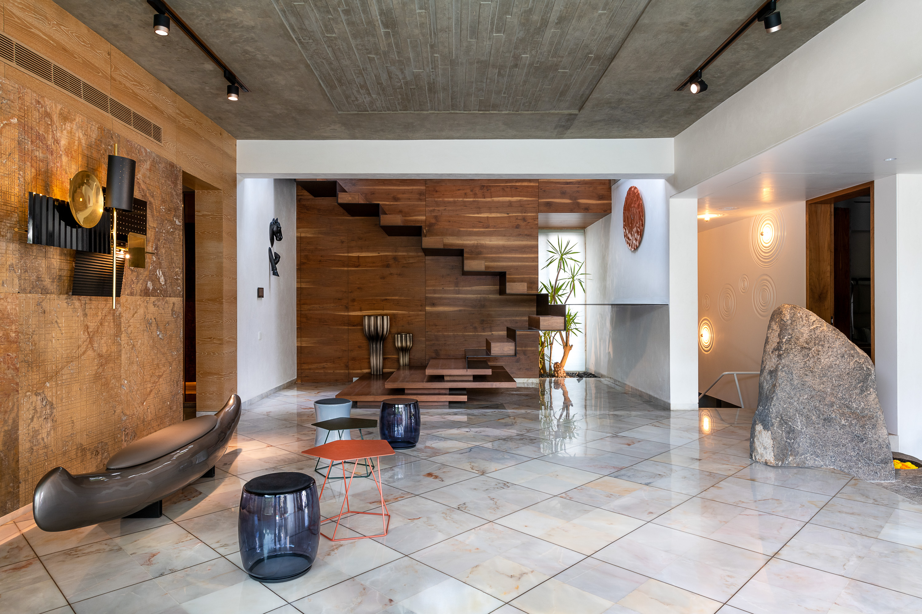 Sustainability Meets Luxury In This Private Residence by NA Architects (7) na architects NA Architects Design A Private Residence Where Copper Hues Reign Sustainability Meets Luxury In This Private Residence by NA Architects 7