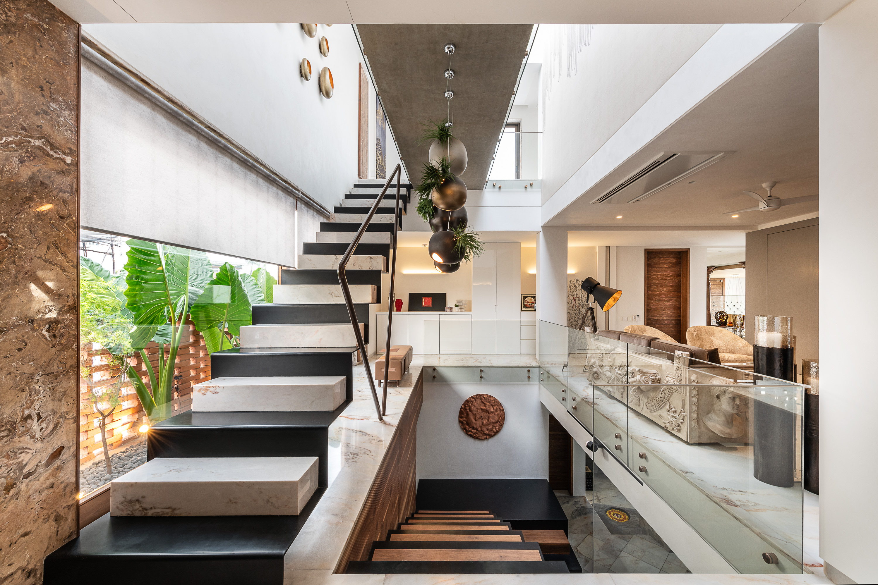 Sustainability Meets Luxury In This Private Residence by NA Architects (9) na architects NA Architects Design A Private Residence Where Copper Hues Reign Sustainability Meets Luxury In This Private Residence by NA Architects 9