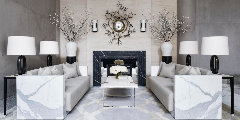 Mesmerizing Luxury Interiors With Marble Design Inspirations