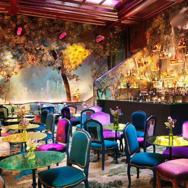 Restaurant Designs Where Contemporary Art Takes Centre Stage restaurant design Restaurant Designs Where Contemporary Art Takes Centre Stage Sketch in London