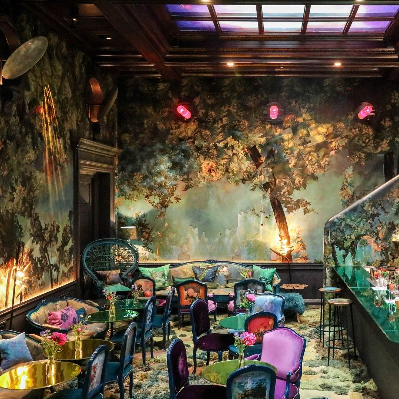 Restaurant Designs Where Contemporary Art Takes Centre Stage restaurant design Restaurant Designs Where Contemporary Art Takes Centre Stage Sketch