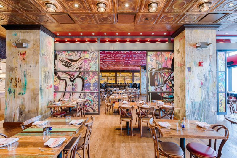 Restaurant Designs Where Contemporary Art Takes Centre Stage restaurant design Restaurant Designs Where Contemporary Art Takes Centre Stage Tico Washington