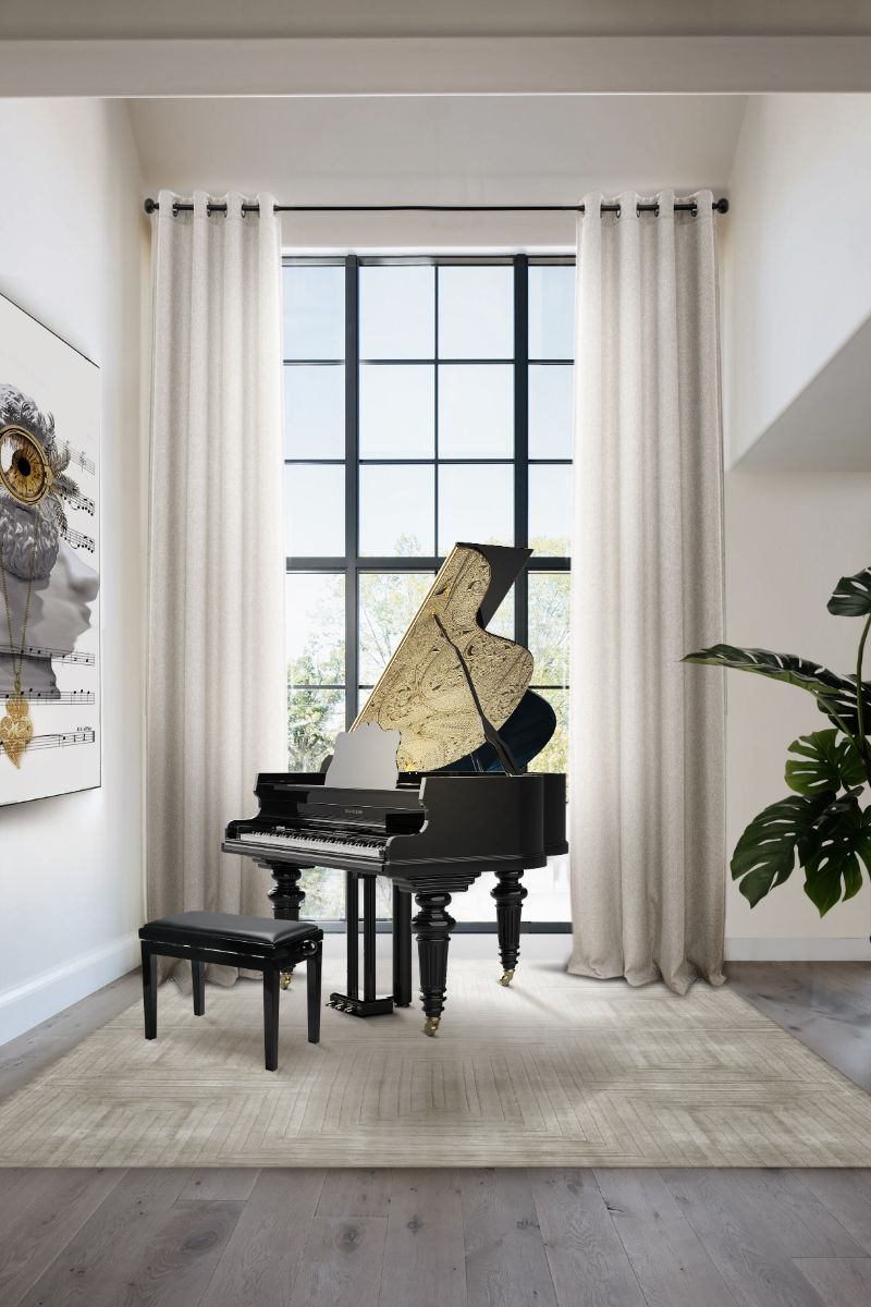 A Trip Down Memory Lane - 15 Years Of Iconic Boca do Lobo Moments fine craftsmanship When Fine Craftsmanship Meets Design – 15 Years of Boca do Lobo filigree grand piano