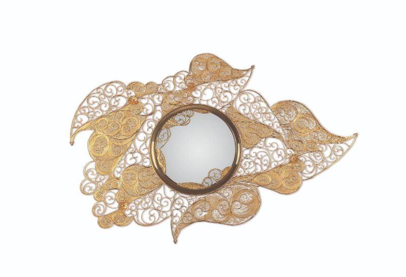 A Trip Down Memory Lane - 15 Years Of Iconic Boca do Lobo Moments fine craftsmanship When Fine Craftsmanship Meets Design – 15 Years of Boca do Lobo filigree mirror 01