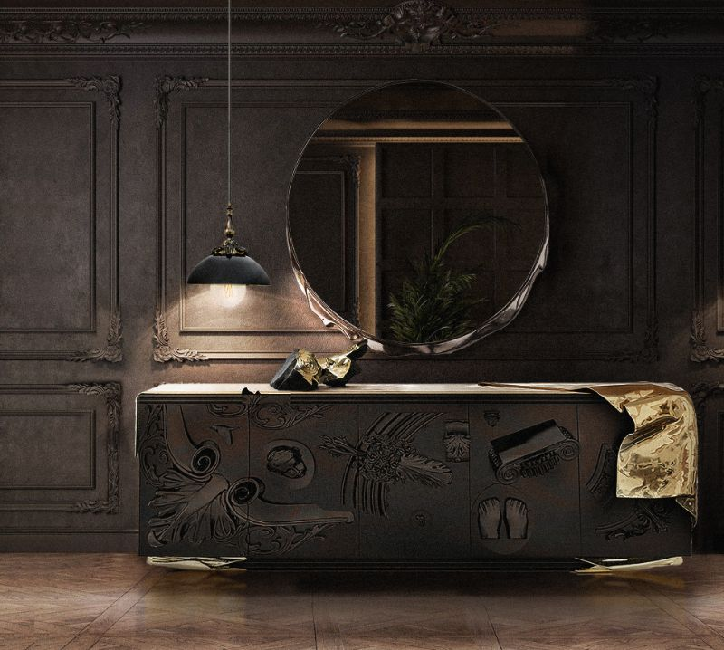 A Trip Down Memory Lane - 15 Years Of Iconic Boca do Lobo Moments fine craftsmanship When Fine Craftsmanship Meets Design – 15 Years of Boca do Lobo voltaire sideboard