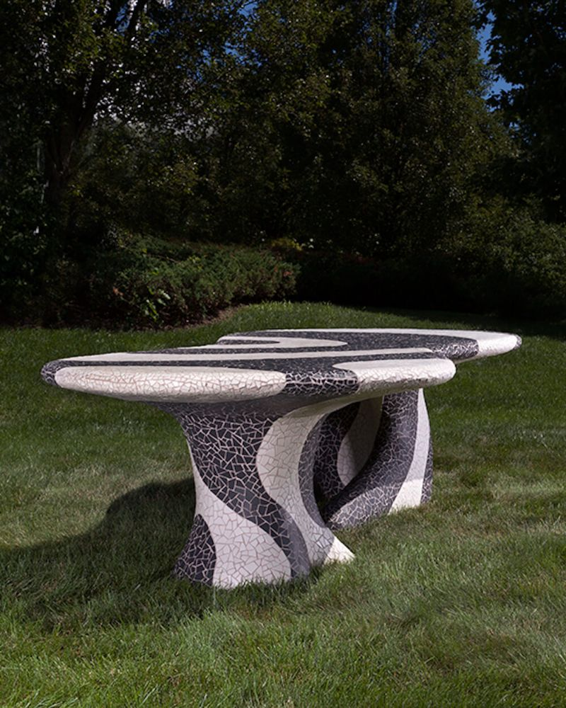 A Gaudi-Esque Outdoor Furniture Collection By Kelly Behun (2) kelly behun Kelly Behun And The Invisible Collection Team Up For Outdoor Furniture Collection A Gaudi Esque Outdoor Furniture Collection By Kelly Behun 2