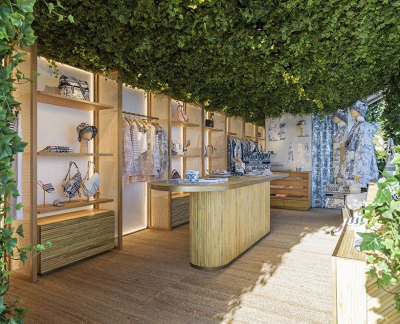 Dior Opens Pop-Up Store That Overlooks The Mediterranean Sea (9) [object object] Dior Opens Pop-Up Store That Overlooks The Mediterranean Sea Dior Opens Pop Up Store That Overlooks The Mediterranean Sea 9