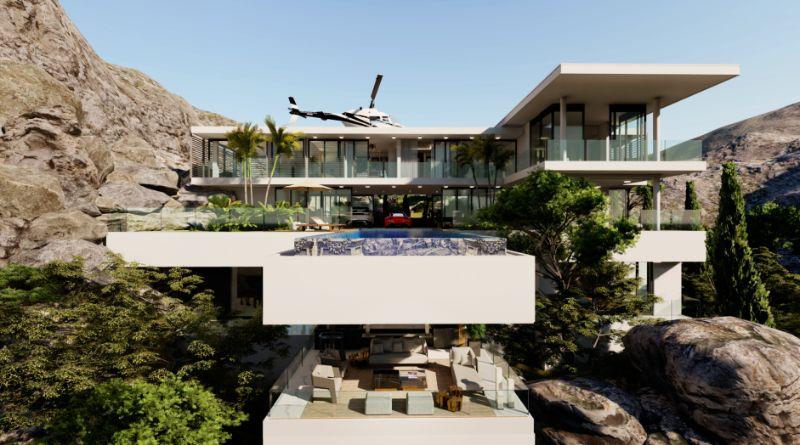 Boca do Lobo's Island Mansion, A Dream Villa In Capri (5)