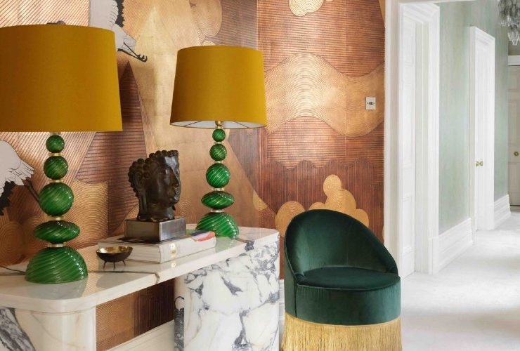 A Statement Wallpaper Design Is The Highlight Of This London Apartment ft london apartment A Statement Wallpaper Design Is The Highlight Of This London Apartment A Statement Wallpaper Design Is The Highlight Of This London Apartment ft 740x500