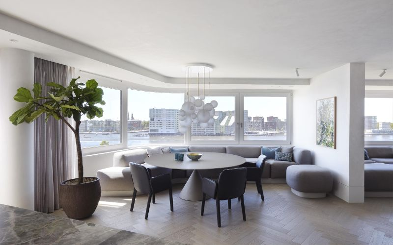 interior designers Design Hubs Of The World – 20 Top Interior Designers From Amsterdam Piet Boon Crafts Modern Apartment Overlooking The City Of Amsterdam 1 design Design Hubs Of The World – Top Interior Designers From Amsterdam Piet Boon Crafts Modern Apartment Overlooking The City Of Amsterdam 1
