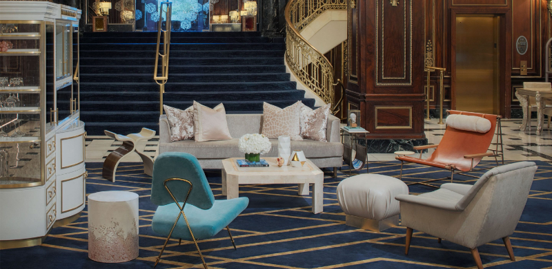 Design Hubs Of The World - 25 Top Interior Designers From Hong Kong top interior designer Design Hubs Of The World – 25 Top Interior Designers From Hong Kong The Gettys Group The Blackstone Hotel Lobby Timothys Hutch 092017 2880x1408 1