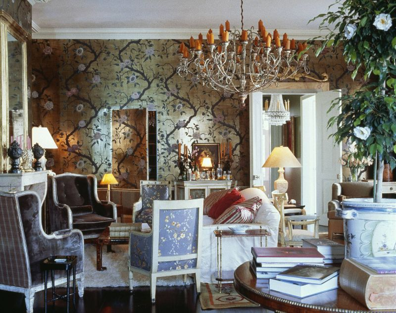 25 Interior Designers in London You Need Know interior designer 25 Interior Designers in London You Need Know Nicky Haslam