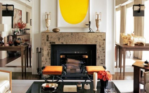 design firm Thad Hayes Inc. –  Best Design Firms in New York City west village townhouse4 1024x729 2 480x300