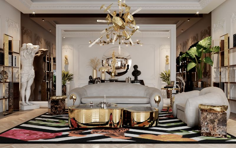 A Luxury Office Setting For An Architect's Millionaire Penthouse luxury office A Luxury Office Setting You'll Want To Work In Everyday, And How To Achieve It! A Luxury Office Setting For An Architects Millionaire Penthouse 13