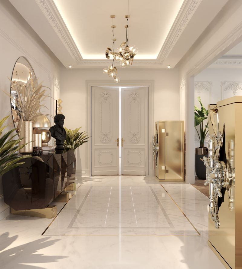 A Luxury Office Setting For An Architect's Millionaire Penthouse luxury office A Luxury Office Setting You'll Want To Work In Everyday, And How To Achieve It! A Luxury Office Setting For An Architects Millionaire Penthouse 14