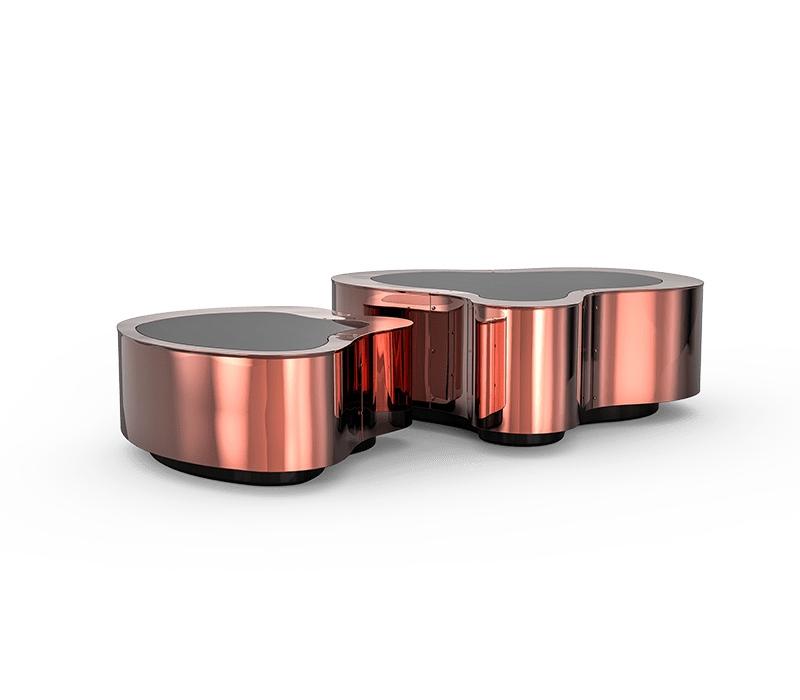 Kelly Behun Studio – Best Design Firms in New York City design firm Kelly Behun Studio – Best Design Firms in New York City wave polished copper center table 01 boca do lobo