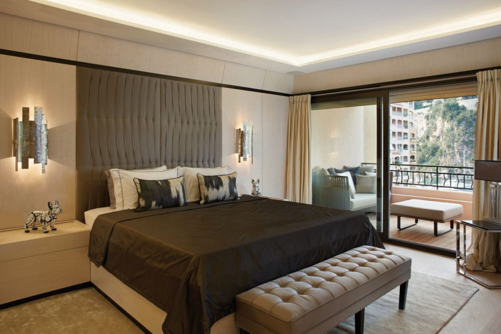 interior design project Interior Design Projects From Monaco, Filled With Luxury and Glamour Apartment GL by Carte Blanche Design Monaco 1024x683