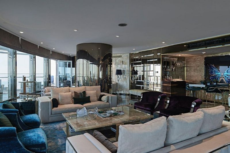 Dubai Exclusive Lifestyle: 7 Luxury Living Room Designs luxury living room Dubai Exclusive Lifestyle: 7 Luxury Living Room Designs Brian Leib Created The Living Room Decor For A Project In Dubai 2 1 1