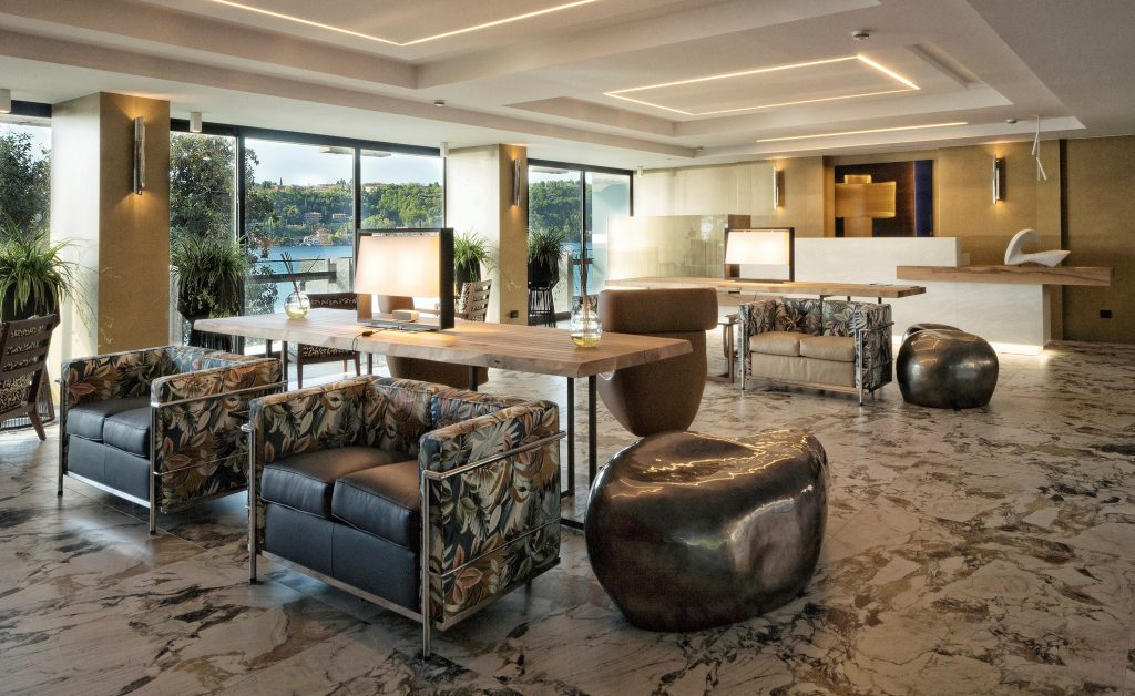 interior design project The Most Exquisite And Best Interior Design Projects In Milan HOTEL RECEPTION 2 1024x628