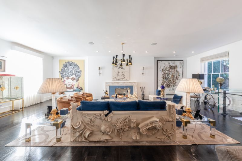 Discover The Best Interior Design Projects In London! interior design project Discover The Best Interior Design Projects In London! Harmonious Residence by Laith Abdel