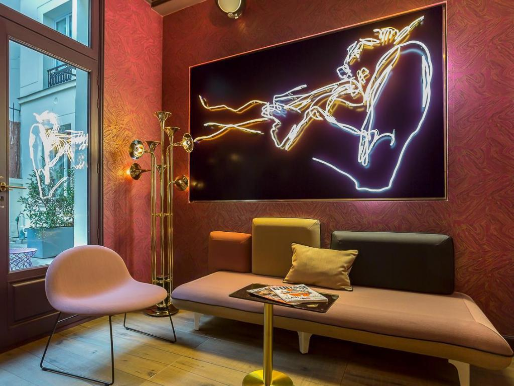 Inspiring Interior Design Projects To Discover In Paris (Part 2!) interior design project Inspiring Interior Design Projects To Discover In Paris (Part 2!) Idol Hotel