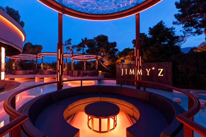 interior design project Interior Design Projects From Monaco, Filled With Luxury and Glamour Jimmyz Monte     Carlo Nightclub by Serenite Luxury